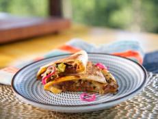 Bulgogi-Inspired Beef Quesadillas