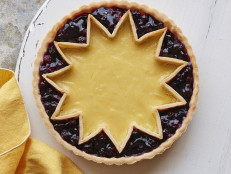 Lemon-Blueberry Sunshine Tart