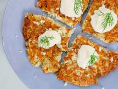 Crispy Potato Horseradish Cakes