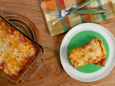 Loaf Pan Lasagna for Two