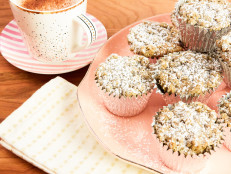 Chai-Spiced Coffee Cake Muffins with Chai Lattes