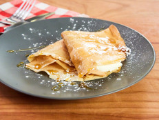 Chestnut Crepes with Sweet Ricotta