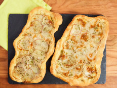 Shortcut Potato Herb Flatbread