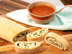 Spinach and Cheese Pizza Roll-Ups