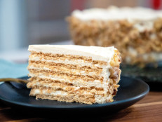 Maple-Walnut Icebox Cake