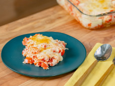 Tomato Rice with Crispy Cheddar