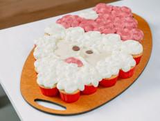 Santa Pull Apart Cupcakes