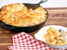 Chicken, Sweet Potato and Swiss Chard Phyllo Pot Pie