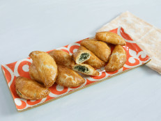 Mini Kale and Fontina Breakfast Pies