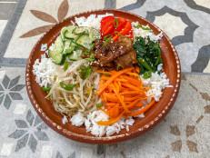 Bibimbap with Gochujang-Marinated Beef