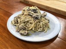 Creamy 'Shrooms Pasta