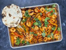 Sheet Pan Shrimp Fajitas (Sponsored)