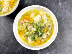 Coconut Cod Chowder