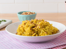 Roasted Spaghetti Squash with Curry-Shallot Butter
