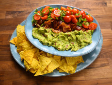 Bacon, Guacamole & Tomatoes