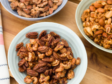 Trio of Spiced Nuts