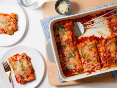 Easy Pesto Lasagna Roll-Ups