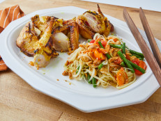 Thai Grilled Chicken with Green Papaya Salad