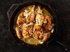 Skillet Roasted Lemon Chicken