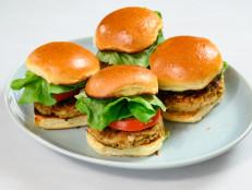 Chicken Mushroom Burgers