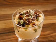 Pumpkin Yogurt with Stovetop Granola