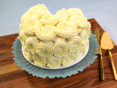 How to Decorate a Layer Cake with Vanilla Buttercream Rosettes