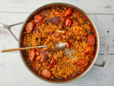 Weeknight Chicken and Andouille Jambalaya