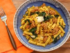 Fusilli Bucati Corti with Rosmarino Maiale Monday Sauce