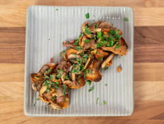 Warm Wild Mushrooms