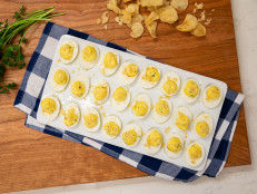 The Kitchen Thanksgiving Live: Parmesan Dijon Deviled Eggs with Crunchy Potato Chips