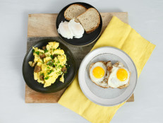 How-To Egg Techniques: Classic Scramble, Fried Egg and Poached Egg