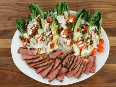 Charred Steak BLT Caesar Salad