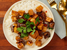 Crispy Szechuan-Style Eggplant and Tofu