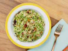 Crispy Shaved Brussels Sprouts Salad