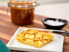 Easy Salted Caramel Apple Tart