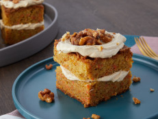 Cardamom-Brown Butter Carrot Cake with Espresso Frosting