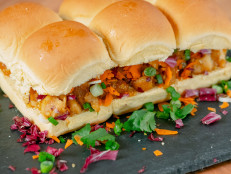 Orange-Glazed Chicken Sliders