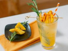 Orange Mango Fizz with Spicy Mango