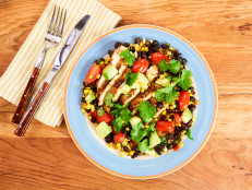 Chili-Lime Chicken with Corn and Black Beans