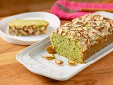 Matcha Almond Cake