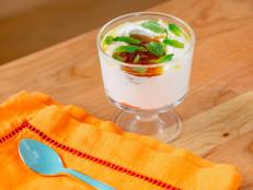 Grapefruit-Honey Marmalade with Greek Yogurt, Olive Oil, Flaky Sea Salt and Mint