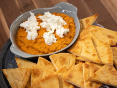 Romesco Dip with Goat Cheese
