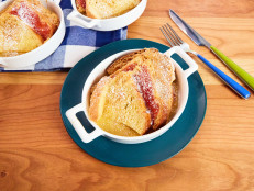 Individual PB&J Baked French Toast