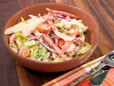 Big Italian Salad with Cold Cuts