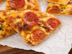 Toaster Oven Pita Pizzas