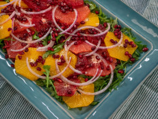 Citrus Salad with Honey Dressing