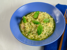 Pesto Chicken and Rice