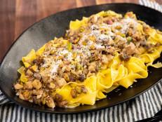 Wild Mushroom Pistachio Pasta
