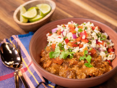 Chipotle and Pale Ale Chili with Mexican Brown Rice Tabbouleh