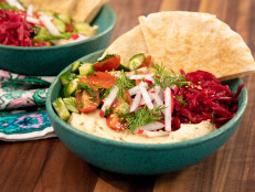 Loaded Vegan Hummus Bowls